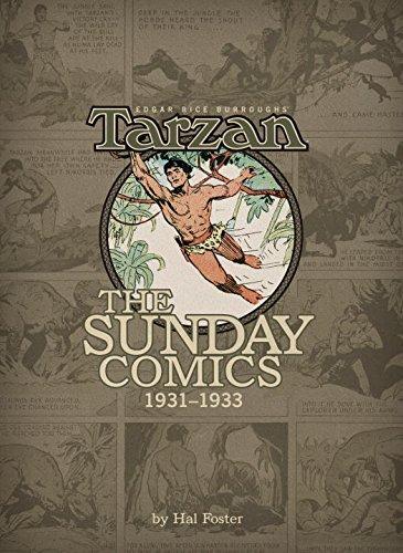 Edgar Rice Burroughs' Tarzan: The Sunday Comics, 1931-1933 Volume 1 (Edgar Rice Burroughs' Tarzan Sundays): George A. Carlin, Brendan Wright, ...