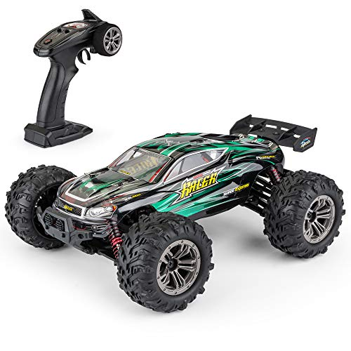 1: 16 Scale All Terrain RC Cars, 36km/H High Speed 4WD Remote Control Truck for Kids & Adults, 2.4Ghz Radio Controller, Radio Controlled Electronic Cars, Waterproof Off-Road RC Trucks(Green) (Best Remote Control Trucks For Adults)