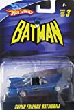Mattel Hot Wheels 1:50 Super Friends Batmobile - Series 3