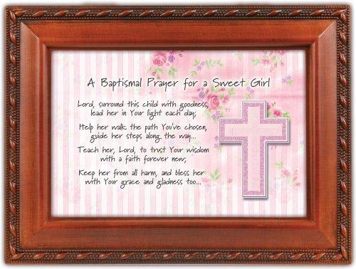 値頃 Baptismal Loves Baptism Cottage Prayer Girl Woodgrain Inspirational Music Music Box Keepsake Plays Jesus Loves Me by Cottage Garden B01M364ZI2, ミカワマチ:662ebc34 --- arcego.dominiotemporario.com