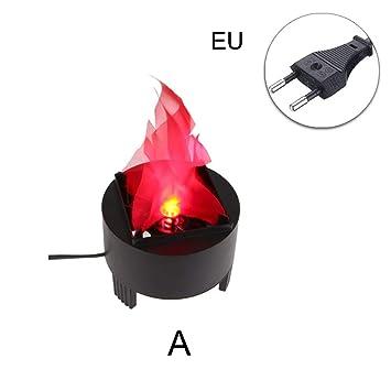 307c8696a89 symboat LED falso llama lámpara efecto de Fuego decoración de la casa  antorcha luz para Halloween Prop apertura  Amazon.es  Bricolaje y  herramientas