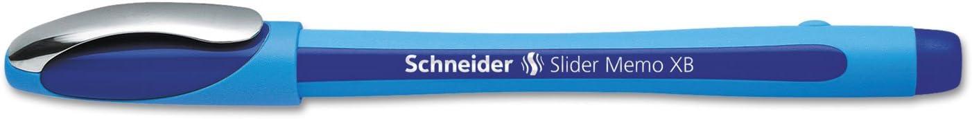 Schneider Slider Memo, Stick, Extrabold, 10 Pack, Blue (STW150203)