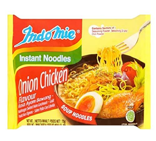 30 BAGS INDOMIE INSTANT NOODLES ONION CHICKEN FLAVOR for sale  Delivered anywhere in USA