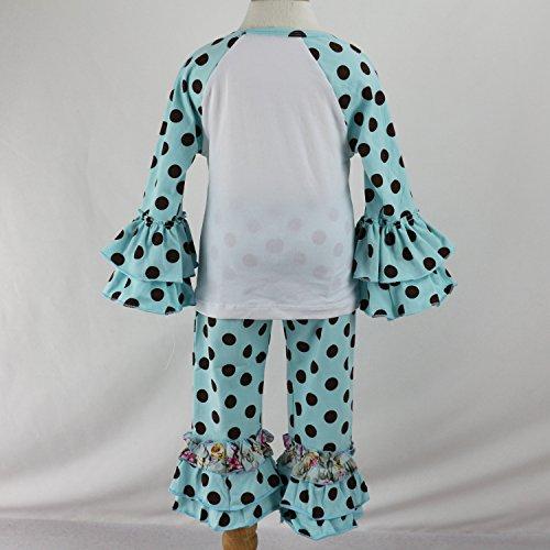 ae5713f37 Wennikids Little Girls' Long-Sleeve Ruffle T-Shirt | Weshop Vietnam