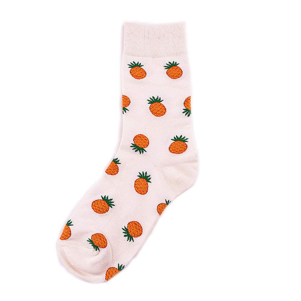 Sport Socks Autumn Winter Dessert Food Series Creative Patterned Tide Socks Women Combed Cotton Female Short Socks Girls Harajuku Ankle Meia Style A by TIGERROSA