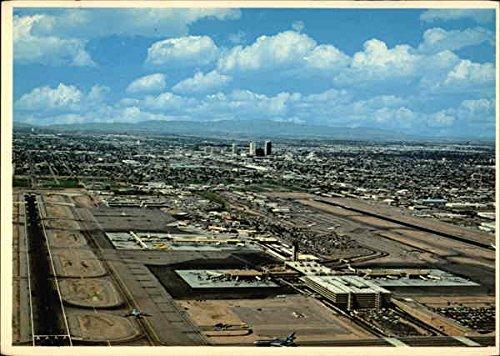 Phoenix Sky Harbor International Airport Phoenix, Arizona Original Vintage - Phoenix Arizona Harbor Sky In Airport