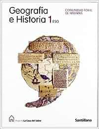 Geografía E Historia 1 Eso Comunidad Foral de Navarra .A