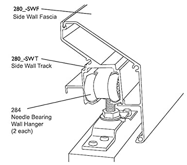 Amazon Com Pemko Side Wall Track Systems For Outside Of Wall