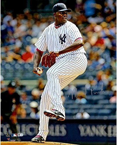 "Michael Pineda New York Yankees Autographed 16"" x 20"" Leg in Air Photograph - Fanatics Authentic Certified"