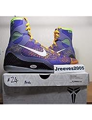 5e5869c57fd6 Dual Autographed Signed Kobe Bryant Ix Elite Promo Sample Pe Sz 14 Shoes  with Memorabilia JSA