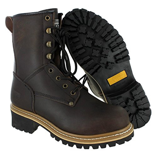 Rugged Blue Pioneer II Logger Boot (12W) Brown by Rugged Blue (Image #2)