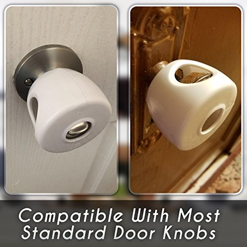 Buy door knob safety covers