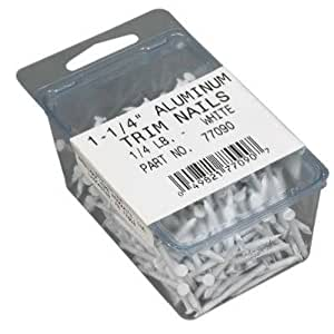 AMERIMAX HOME PRODUCTS 77090 1-1/4-Inch Soffit Nail, White
