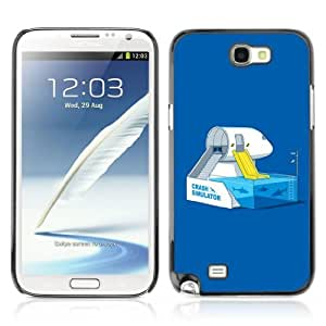 Designer Depo Hard Protection Case for Samsung Galaxy Note 2 N7100 / Shark Tank