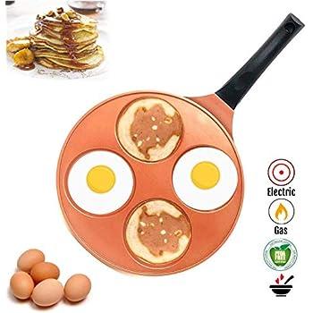 Amazon.com: Pancake Pan - 10 inch Ceramic Nonstick in Avocado Green ...