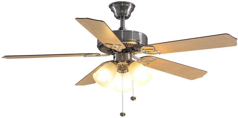 Hampton Bay yg268-bn brookhurst 52 en. Níquel cepillado ventilador ...