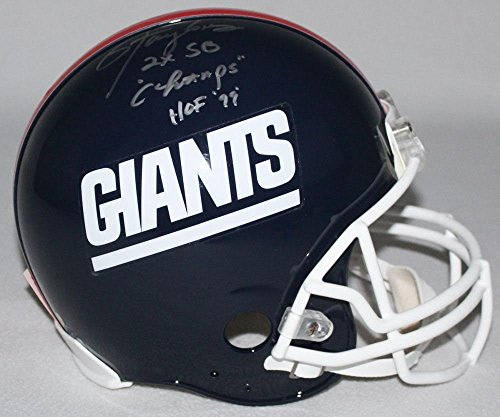 LAWRENCE TAYLOR Signed LE Giants Full-Size Authentic Pro-Line Helmet Inscribed