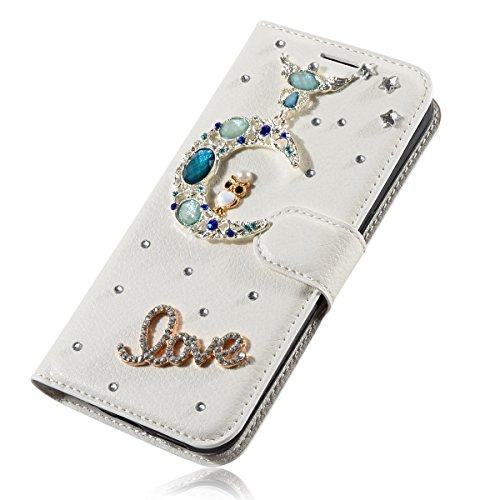 Lenovo ZUK Z1 Funda, Lenovo ZUK Z1 billetera Funda, Lifeturt [ Nota musical ] Cubierta de la caja de cuero superior de la carpeta del libro para Lenovo ZUK Z1 E02-18-Moon Love