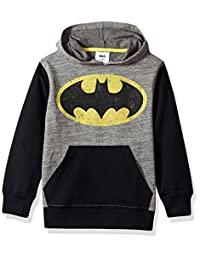 DC Comics Big Boys' Batman Fleece Pullover Hoodie