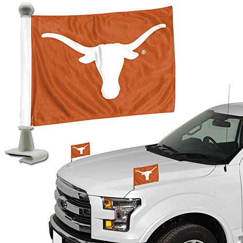 Ambassador Set - ProMark NCAA Texas Longhorns Flag Set 2Piece Ambassador Styletexas Longhorns Flag Set 2Piece Ambassador Style, Team Color, One Size