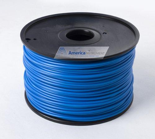 Jet - ABS Filament 1kg (=2.2 lbs) on Spool for 3D Printer Makerbot, Reprap, Makergear, Ultimaker, Up!, etc. - USA (1.75mm, Navy) JET Supplies