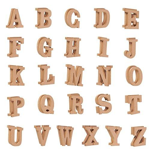 wood alphabet letters - 1