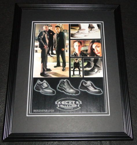Collection Footwear - 2001 Skechers Collection Footwear Framed 11x14 ORIGINAL Advertisement
