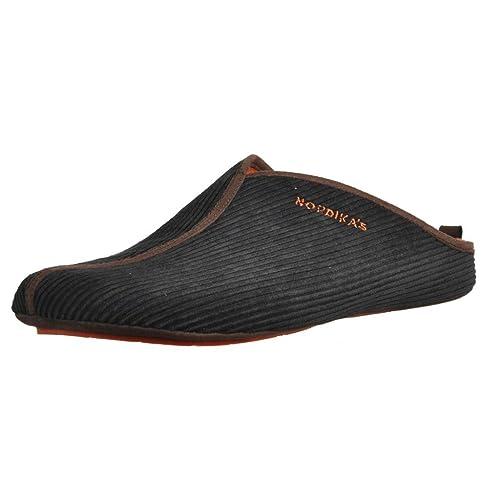 Zapatillas de Estar por casa de Hombre, Color Negro, Marca NORDIKAS, Modelo Zapatillas