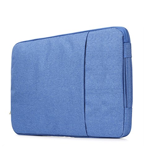 Sammid 15 inch Macbook Cover,Protective Notebook Carrying Case Cover for Most 15 Inch Laptop, Notebook, MacBook etc - Blue by Sammid