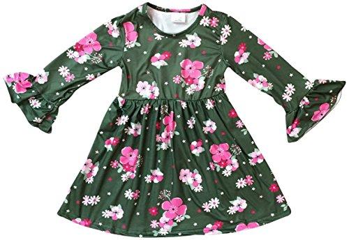 olive flower girl dresses - 4