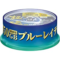 TDK Blu Ray Discs 50 GB BD-R DL 4x Speed High Grade Bluray Dual Layer Spindle