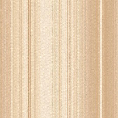 Manhattan Comfort NWTX34817 Bloomington Stripe Textured Wallpaper, Brown, Cream, Tan