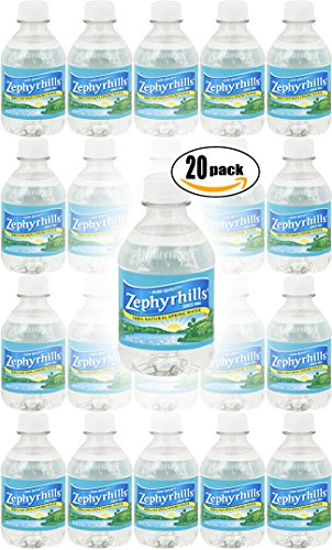 Zephyrhills Natural Spring Water, 8oz (Pack of 20, Total of 160oz)
