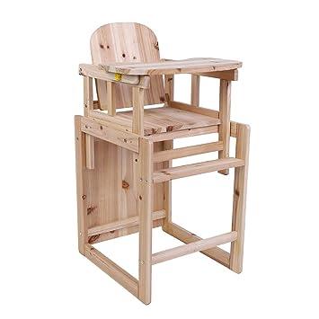 Baby Hochstuhl Mit Tisch.Hochstuhl Abnehmbar Babyhochstuhl Baby Esszimmerstuhl Holz