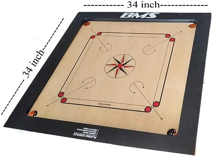 Black Carrom Board Striker 50mm By 8mm Thickness Professional Game  Striker.
