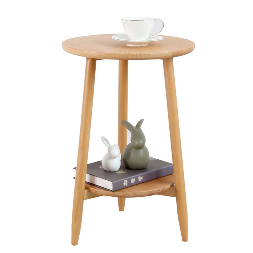 Coffee Tables Telephone Tables Telephone Table Desk Magazine Table Bedroom Bedside Leisure Desk Simple Modern Side Corner Solid Wood Round Small Balcony Small Side Console Table by Coffee Tables