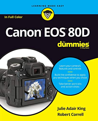 Take professional-quality photos with your Canon EOS 80D Your Canon EOS 80D gives you pro-level photo power. All you need is some know-how about your camera's capabilities and a little experience to start capturing brag-worthy photos—and the expert t...