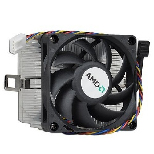 AMD Socket AM3 / AM2 / 1207/940 / 939/754 4-Pin Connector CPU Cooler Aluminum Heatsink & 2.75-inch Fan Pre-Applied Thermal Paste Desktop PC Computer (TS9) by TronStore (Image #2)
