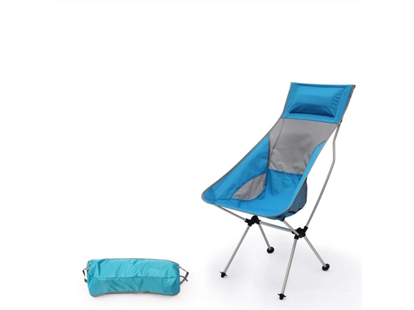 OHlive Faltbar Kreativer faltender Fischen-Stuhl-Recliner-Camping-Stuhl für im Freien und Fischerei (Grün)