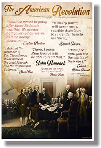 Quotes Of The American Revolution - New Social Studies Poster