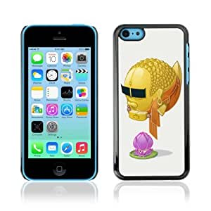 linJUN FENGDesigner Depo Hard Protection Case for Apple ipod touch 5 / Cool Goldfish Buddha