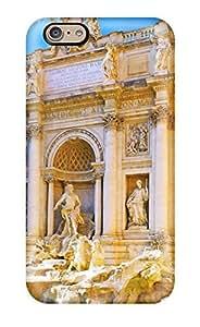 New Fashion Premium Tpu Case Cover For Iphone 6 - Fontana Di Trevi Rome Italy wangjiang maoyi