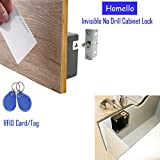 Best Cables With Lock Latches - Homello RFID Electronic Cabinet Lock Hidden DIY Review