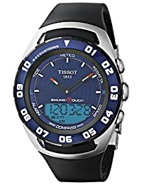 Tissot Men's T0564202704100 Sailing Touch Blue Chronograph Dial Watch