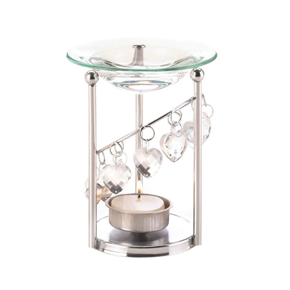 Bejeweled Oil Warmer Home Decor Home Decorative Items Collectibles Figurines Accessories and Gifts