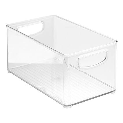 InterDesign Home Kitchen Organizer Bin For Pantry, Refrigerator, Freezer U0026  Storage Cabinet, 10u0026quot