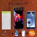 3in1 vape - Colorful Vape Smoke Custom Galaxy S3 Cases-CLEAR-Plastic,Bundle 3in1 Comes with Screen Protector/Universal Stylus Pen by innosub