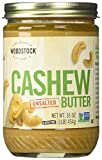 Woodstock Cashew Butter, Unsalted, 16-Ounce