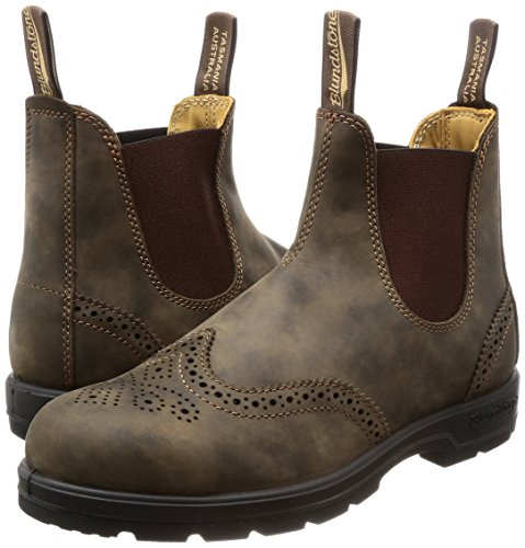 Pictures of Blundstone Unisex BL1471 Rustic Brown Brogue 9 1471267 5