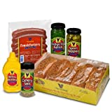 Vienna Beef Natural Casing Chicago Style Hot Dog Kit 10 PACK